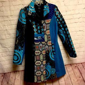 Neslay Paris by Anthropologie long coat